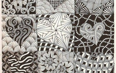 INTRODUCTION TO ZENTANGLE with Lori Badstein
