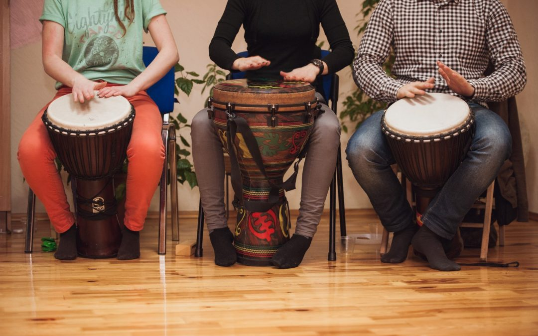 Drums Aren't Just for Music: They're Therapy, Too