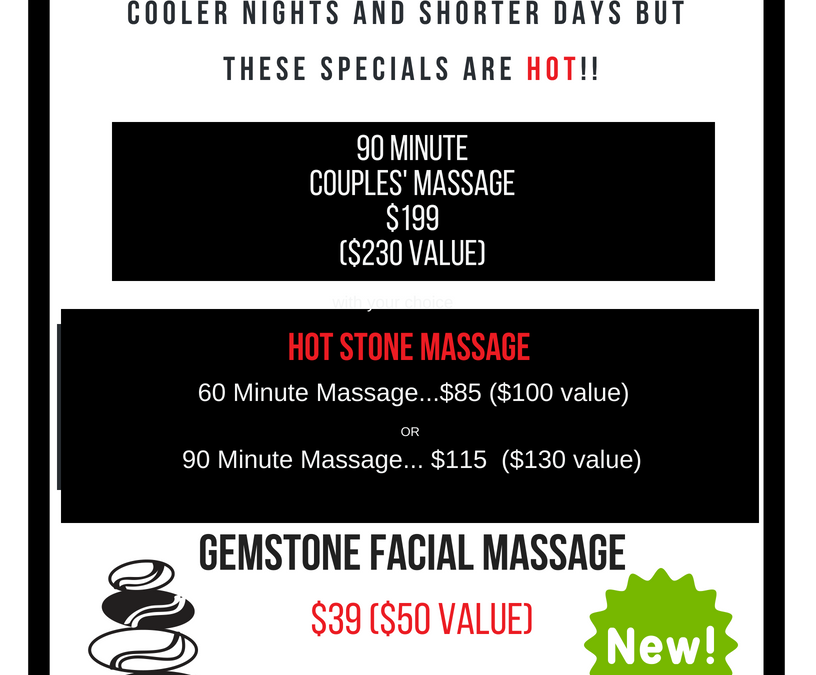 September Specials are out!
