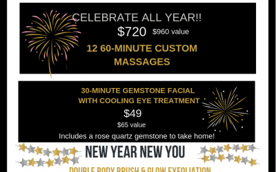 Happy New Year! January Specials