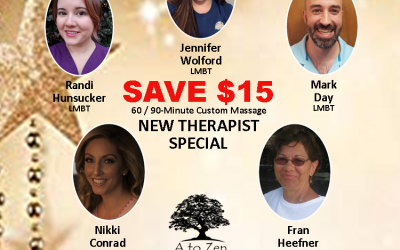 New Therapist Special
